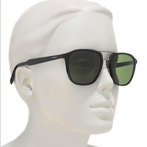 NWT Prada 54mm Pillow Square Matte Sunglasses